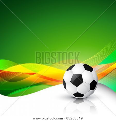 vector football abstract background illustration