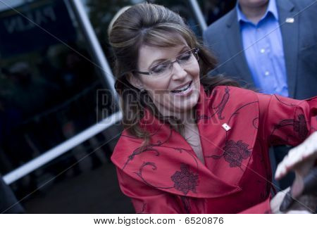 Sarah Palin On Book Tour