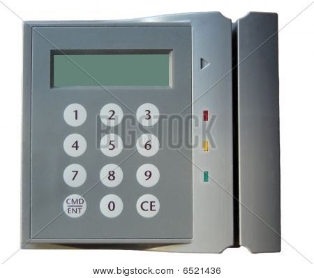 security entry card scanner