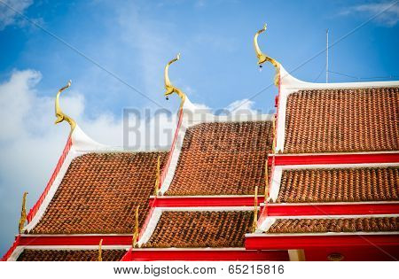 Wat Chalong Temple Phuket, South Of Thailand
