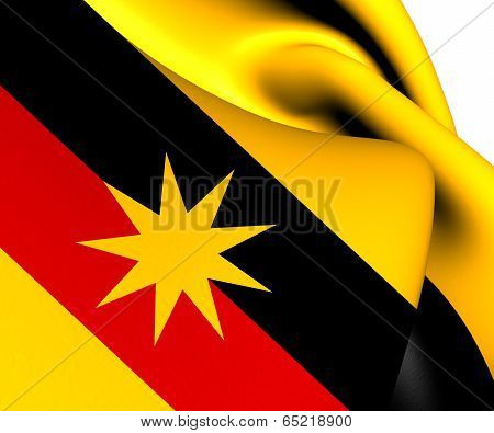 Flag Of Sarawak