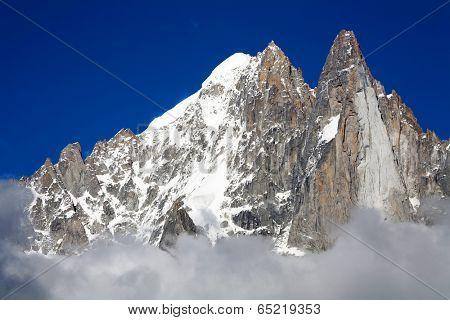 Les Dru in Haute Savoie, France