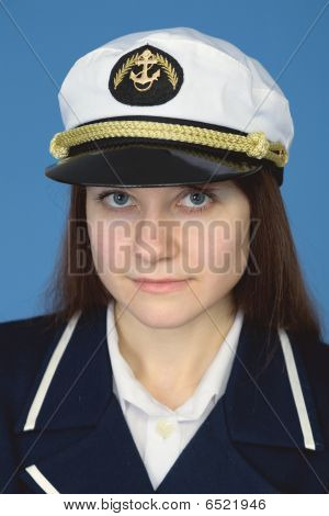 Portrait Of Woman - Captain