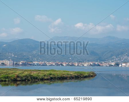 Lefkas town, View of Lefkada town