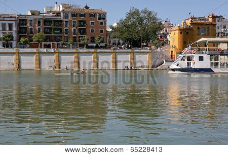 Rowing On The Guadalquivir