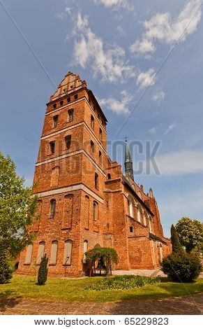 St. Stanislaus Church (1521) In Swiecie Town, Poland.