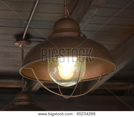 Old Light Fixture