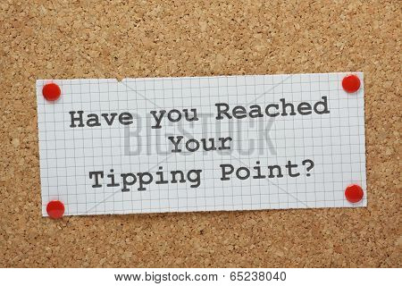 Tipping Point Concept