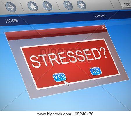 Stressed Concept.