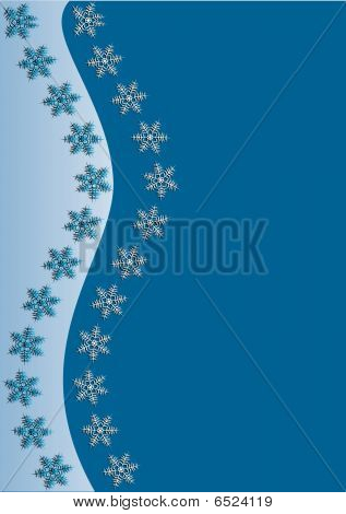Light blue Winter Background
