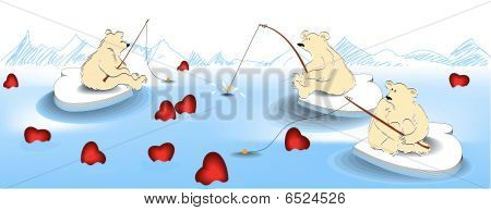 Valentine fishing