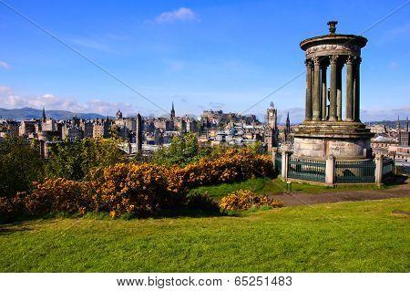 Edinburgh cityscape