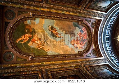 Ceiling Art New York Public Library