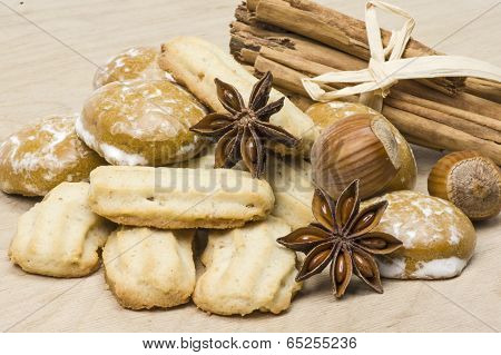 Spritz biscuit and spice