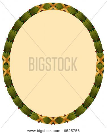 Laurel Leaf Frame