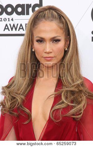 LAS VEGAS - MAY 18:  Jennifer Lopez at the 2014 Billboard Awards at MGM Grand Garden Arena on May 18, 2014 in Las Vegas, NV