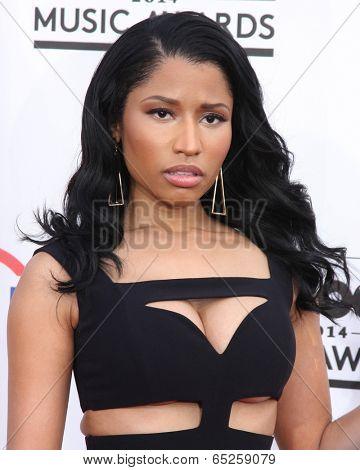 LAS VEGAS - MAY 18:  Nicki Minaj at the 2014 Billboard Awards at MGM Grand Garden Arena on May 18, 2014 in Las Vegas, NV