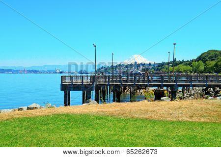Tacoma. Pier View. Wa