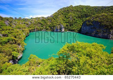 Inland Sea, Angthong National Marine Park, Koh Samui, Thailand