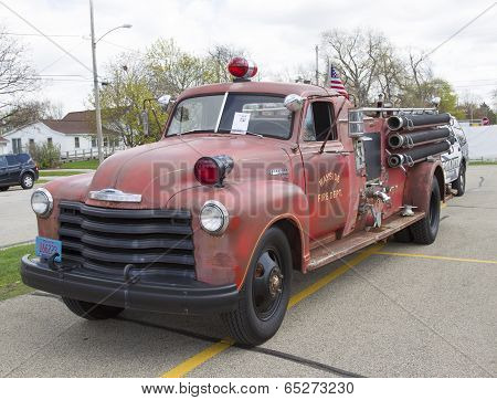 1951 Chevy Fire Truck