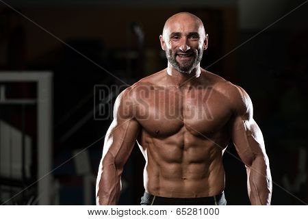 Portrait Of A Physically Fit Mature Man