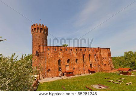 Schwetz Castle (1350) Of Teutonic Order. Swiecie, Poland