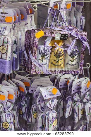 Avignon Souvenirs- Little Sacks With Lavender