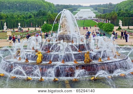 Gardens Of Versailles Chateau