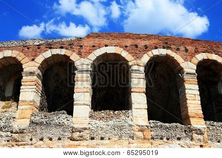 Arena of Verona, World Heritage, I-III century - Roman amphitheater