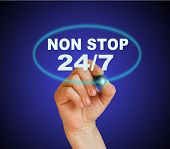 Постер, плакат: Non Stop