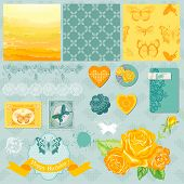 foto of ombre  - Scrapbook Design Elements  - JPG