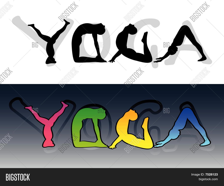 Yoga symbol Stock Vector & Stock Photos | Bigstock