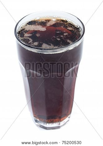 Full Glass Of Cola Drink