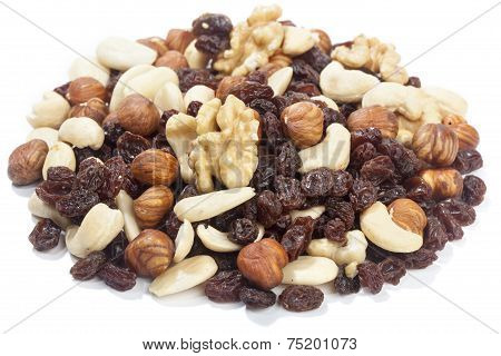 Trail Mix Nuts And Raisins