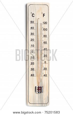Dual Celsius Fahrenheit Scale Thermometer
