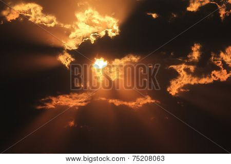 Sky Light - Weather and Sky Background - Beaming Glow