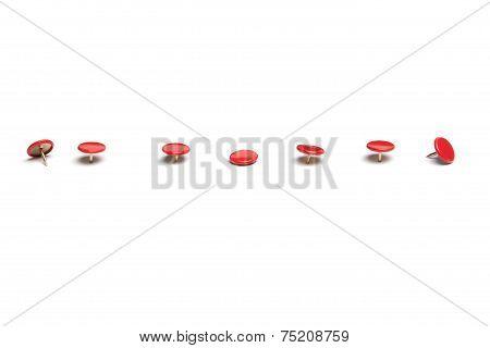 Red Thumb Tacks