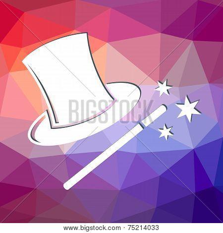 Magic Wand And Hat