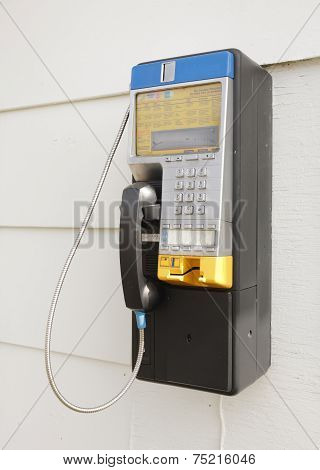 Northern Telecom Payphone