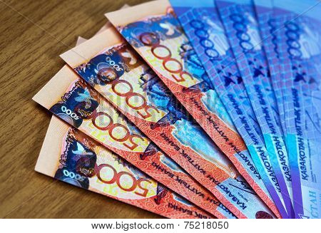 Money Of Kazakhstan, Banknotes Tenge