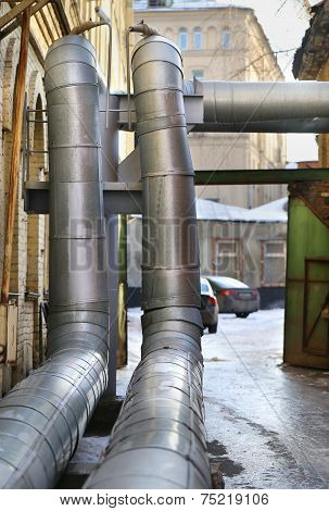 Hot Water Pipe