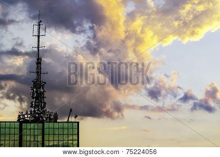 Top Of Skyscrapter