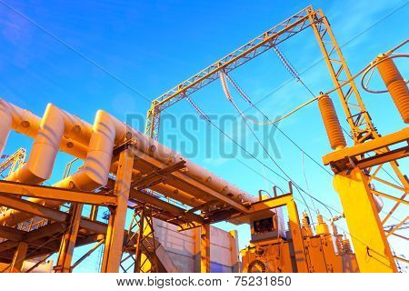 High-voltage industrial electric equipment