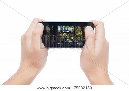 Deer Hunter on iPhone 5S