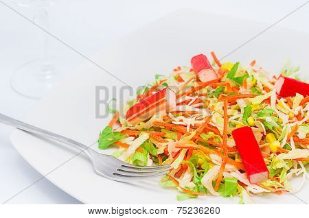 A Bite Of Salad