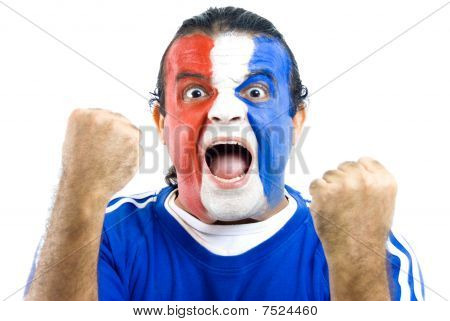 Happy French Supporter