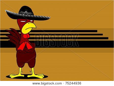 mexican chicken mariachi background3