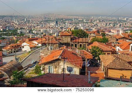 Cityscape of Ankara, Turkey