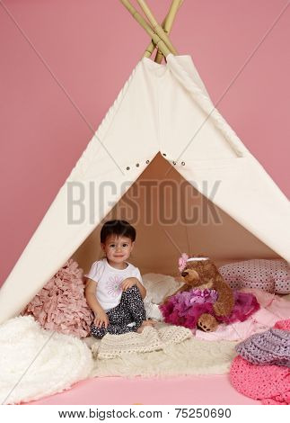 Child Play: Pretend  Games Toys And Teepee Tent