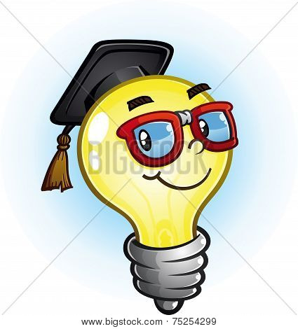 Light Bulb Education Cartoon